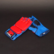 GTMA Grappling Glove - 2 Tone/Blue and Red
