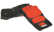 GTMA Grappling Glove - 2 Tone/Black & Red