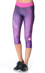 Women's Short Leggings - Purple