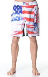 Fight Shorts - Americano White