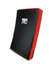"GTMA Deluxe Kicking Shield (Red/Black) 15"" x 26"" x 5"""