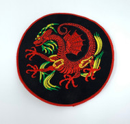 "8"" Red Dragon Patch"