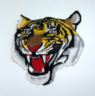 "9"" Tiger Head Patch"