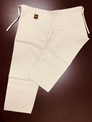 GTMA Judo Pants in Natural Cotton Color