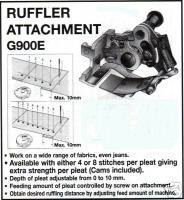 Ruffler Attachment G900E For Single Needle Machine