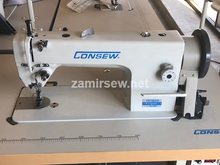 Consew P1206RB-1 Drop Feed , Needle Feed , Walking Foot , Lockstitch Machine , Reverse , Big Bobbin