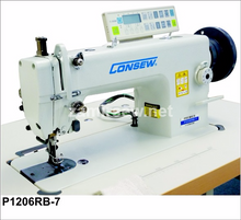 Consew P1206RB-7 Deluxe Model With ,  Auto Foot Lift  , Auto Back Tackt , Needle Positioner , Thread Trimmer , Walking Foot ,Lockstitch Machine , Reverse , Big Bobbin