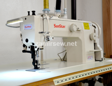 Sunstar KM-640BL-7  Long Arm - Walking Foot - 1 Needle- Auto Thread Trimming