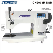 Consew CN2073R-DSM Industrial Machine With Table and 3/4 HP Servo Motor