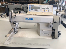Juki DDL-5550-7 Used Single Needle Automatic Sewing Machine