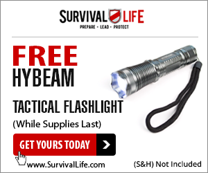 Tactical Flashlight Free w/s&h