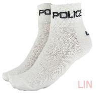CoolMax Police Sock White