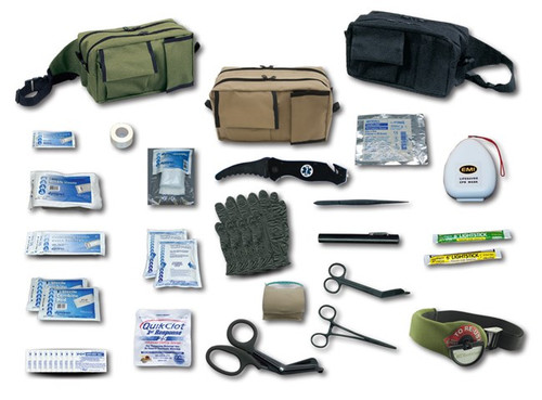 When a downsized and basic tactical response kit is needed EMI's TACMED™   Basic Response Kit is your first choice.