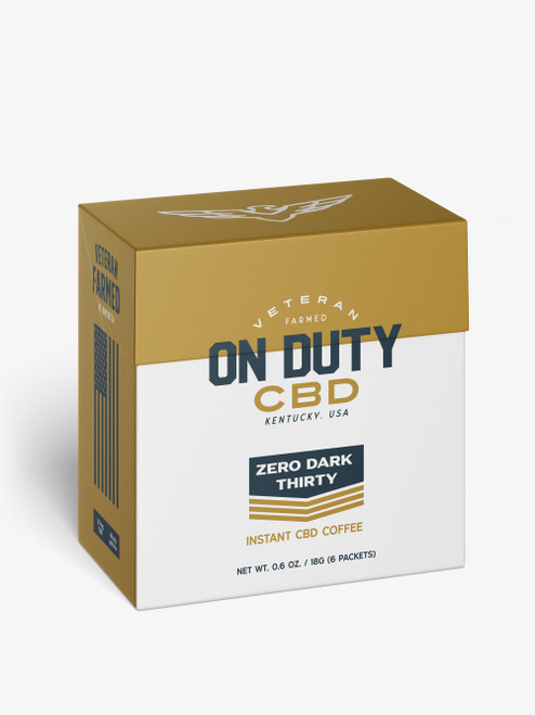 On Duty Instant Coffee. Perfect for anxiety and to get your day started or through out the day for steady release.