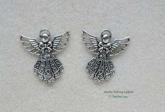 Large Angel Pendant Charms