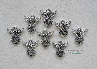 Medium Angel Pendant Charms