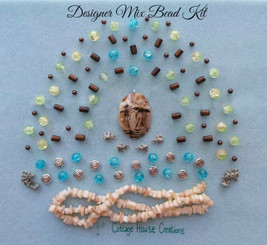 Palm Coast Summer Designer Mix Bead Kit