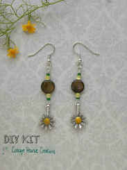 Sunflower Earring Kit