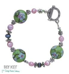Sakura Bead Bracelet Lampwork Kit