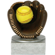 "4"" Softball Color Tek Resin"