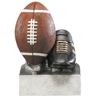 "4"" Football Color Tek Resin"