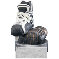 "4"" Hockey Color Tek Resin"