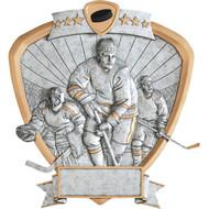 "8"" Hockey Shield Resin"