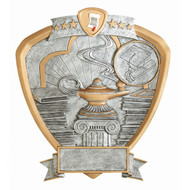 """8"""" Knowlege Shield Resin"""