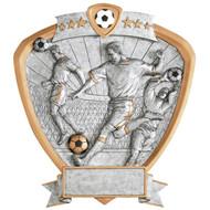 """8"""" Soccer Shield Resin"""