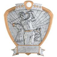 "8"" Golf Shield Resin"