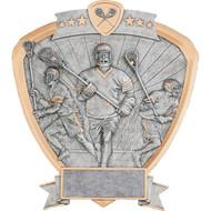 "8"" Lacrosse Shield Resin"
