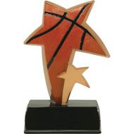 """6"""" Basketball Sport Star Resin"""