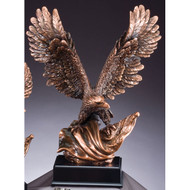 Electroplated Eagle Resin