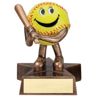"4"" Softball Little Buddy Resin"