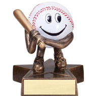 "4"" Baseball Little Buddy Resin"