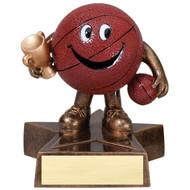 "4"" Basketball Little Buddy Resin"
