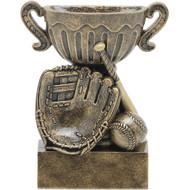 "4½"" Baseball Sport Cup Resin"