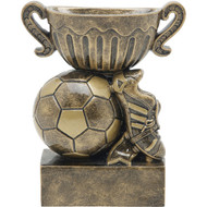 "4½"" Soccer Sport Cup Resin"
