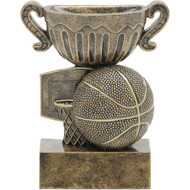 "4½"" Basketball Sport Cup Resin"