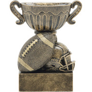 "4½"" Football Sport Cup Resin"