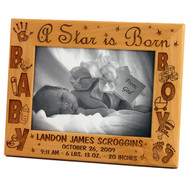 5x7 Alderwood Baby Frame