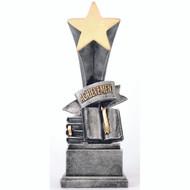 "8"" Achievement Rising Star Resin"
