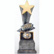 """8"""" Soccer Rising Star Resin"""