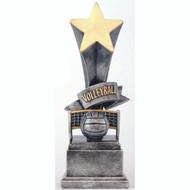 "8"" Volleyball Rising Star Resin"