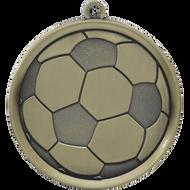 """2¼"""" Soccer Mega Medal"""