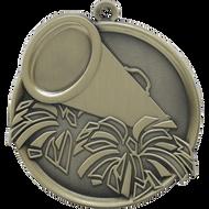 "2¼"" Cheer Mega Medal"