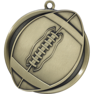 "2¼"" Football Mega Medal"