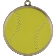 "2¼"" Softball Mega Medal"