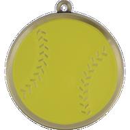 "2¼"" Softball Mega Medal"