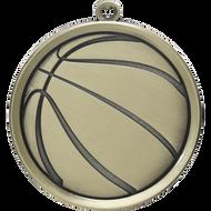 "2¼"" Basketball Mega Medal"